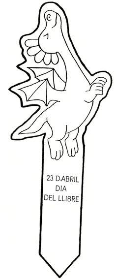 punt de llibre per Sant Jordi