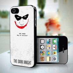 The Joker The Dark Knight design for iPhone 5 case