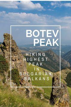 Botev Peak, Bulgaria