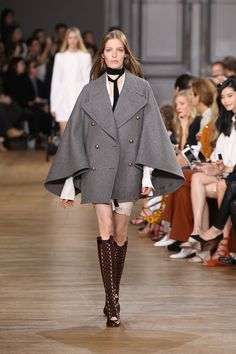 Look 5 from the Chloé Fall-Winter 2015 runway