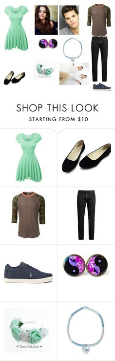 """""""Jennifer Mcall and Aiden"""" by milkshake22-1 ❤ liked on Polyvore featuring beauty, LE3NO, MasterCraft Union and NOVICA"""
