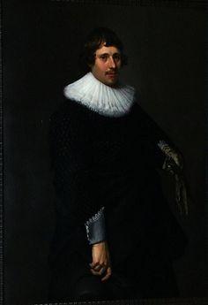 Nicolaes Eliasz. Pickenoy, Portrait of a Man, 1635 Statens Museum for Kunst, Copenhagen