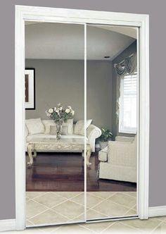 Closet With Mirror Doors
