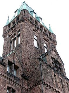 Henry Hobson Richardson 1870 Buffalo State Asylum Buffalo NY 1327