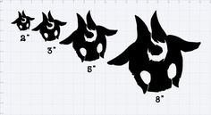 League of Legends Kindred Mask Decal Set Comes with Both Sheep and Wolf mask  All decals are made to order so please allow 1-3 days for work time.