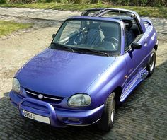 The Suzuki X-90. The best little car I've ever owned. I wish they still made them! :(