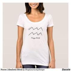 Aquarius | Crazy Bitch T-shirt