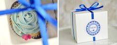 pudełeczka na babeczki dla gości weselnych - partymika