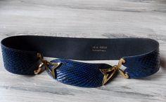 ceinture vintage Léo Isba de la boutique vintagedelatour sur Etsy Ceinture  Vintage, Fait Main, 5e90b490a50