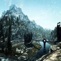 i used to hate that bridge cause i was playing on a sad wimpy computer and i couldn't see the people on the bridge and across the river because my render distance was so low. i would like shoot at where the arrows were coming from until they were all dead.
