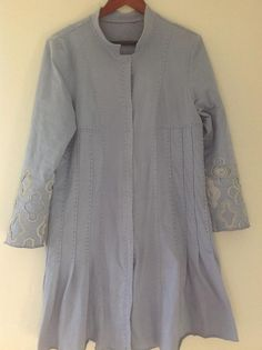 Alabama Chanin Tuck Coat - Wannabe Style project on Craftsy.com