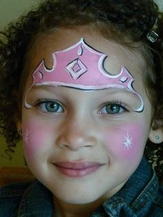 princess face paint | Art Face painting for kids: princess fantabulous-face-painting | Art