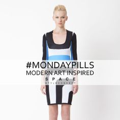 Start this week like an Art Masterpiece with Space Style Concept!    #ModernArtInspired  #MondayPills