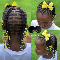 Brick lay braids and beads! booking link in bio! childrenhairstyles braidart childrensbraids braidsandbeads kidsbraidsatl cornrows braided hairstyles 2019 braided hairstyles braiding box cornrows and weaves for you correct kid braids Box Braids Hairstyles, Lil Girl Hairstyles, Black Kids Hairstyles, Natural Hairstyles For Kids, Kids Braided Hairstyles, Natural Hair Styles, Toddler Hairstyles, Hairstyles Haircuts, Natural Beauty