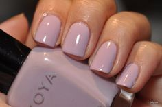 "Zoya Heather - that I plan on pairing with the Zoya Pinta for a colored French ""Twist"" manicure"