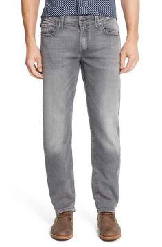 Fidelity Denim 'Jimmy' Slim Straight Leg Jeans (Oxy Mystic)