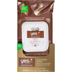 Use coconut cleansing wipes to remove dirt and sweat. - $5 @ Walmart