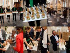 Verzorging receptie in De Grote Kerk Breda