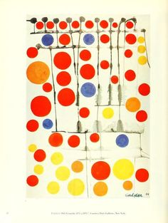 A. Calder 1964, cercles