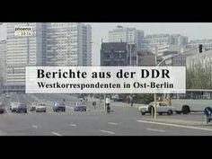 Berichte aus der DDR: Westkorrespondenten in Ost-Berlin Die Journalisten aus dem anderen deutschen Staat mussten sehr schnell begreifen, dass eine objektive Berichterstattung nur unter Schwierigkeiten möglich war, da die DDR eine unkontrollierte Arbeit nicht zuließ und auf möglichst unkritische...