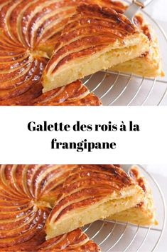 French Cake, French Food, French Toast, Frangipane Creme Patissiere, French Pastries, Beignets, Cake Recipes, Deserts, Brunch