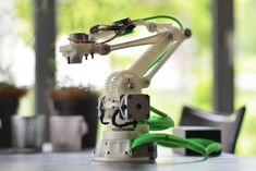 printer design printer projects printer diy чпу чпу RobotArm by ftobler - Thingiverse you can find similar pins below. We have brought the. Build A Robot, Diy Robot, Robot Arm, Home 3d Printer, 3d Printer Projects, Impression 3d, Bras Robot, Robot Platform, Robot Design