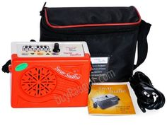 Swar Sudha Shruti Box 2012 (PDI-HB) by buyRaagini.com. $69.00. The Swar Sudha is 3 in 1 Electronic Music Instrument that Delivers a Genuine Sruthi Drone. It is made of High Quality Durable ABS Plastic Body to suit the Peninsular Climate. Its in built Metronome come with a Adjustable Tempo. Its Convenient Harmonium Indication acts as an easy reference for setting the Pitch. It has a Accurately Preset PA & MA that automatically tunes with the Main SA, along with Fine Tuning to ...