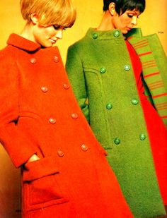 1960s coats - in the days before we went online we had mail order catalogues