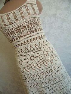How to Crochet a Bodycon Dress/Top Crochet Skirt Pattern, Crochet Skirts, Crochet Clothes, Crochet Patterns, Tunic Pattern, Diy Crafts Dress, Diy Crafts Crochet, Black Crochet Dress, Crochet Lace