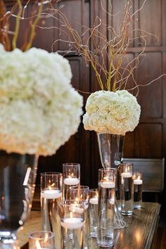 simple decor | Kristyn Hogan #wedding