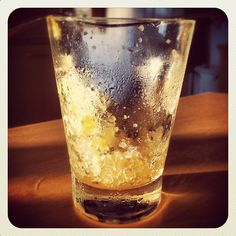 Hard cider granita from IAMCIDER