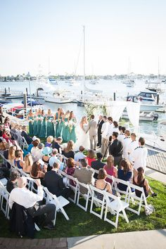 Ceremony site at BYC