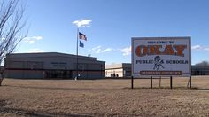 Okay, Oklahoma:  About 400 students attend Okay Elementary, Junior High and High School.  A post office called Okay has been in operation since 1919. The town took its name from the OK Truck Manufacturing Company. Okay has been noted for its unusual place name.