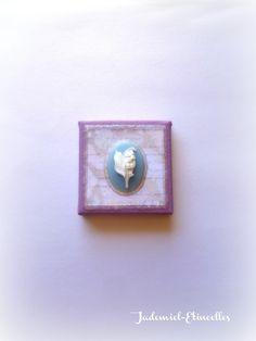 """♥ Fête des mères ♥ Mini toile décorative """" Songes de fleurs """" n°48 : Accessoires de maison par jademiel-etincelles"""