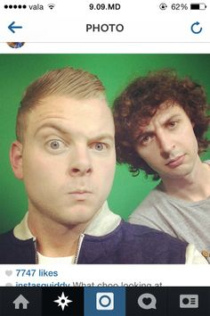 Stampy and Squid ( Joey Garret and David )