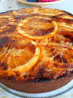 κέικ με_ καραμελωμένα πορτοκάλια_ συνταγή Grapefruit, Food, Essen, Meals, Yemek, Eten