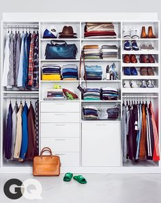 GQ: A Style Resolution: The Total-Closet Overhaul