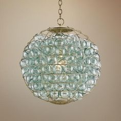 """Currey and Company Pastiche 23"""" Round Gold Chandelier  I'm in love with this one, but it's $3520!!!"""