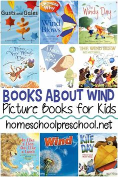 How To Produce Elementary School Much More Enjoyment These Books About Wind For Preschoolers Are Perfect For Your Spring Lesson Plans You Can Add Them To Your Weather Unit, Too. Weather Activities Preschool, Preschool Lesson Plans, Kindergarten Science, Book Activities, Teaching Weather, Preschool Seasons, Weather Kindergarten, Phonics Activities, Weather Lesson Plans