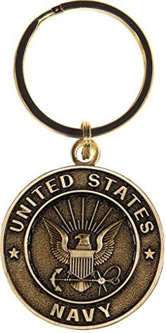 US Navy Keychain Military Products Key Rings Gifts for Servicemen and Veterans ** Visit the image link more details.