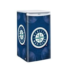 MLB Seattle Mariners Counter Top Refrigerator « Blast Gifts