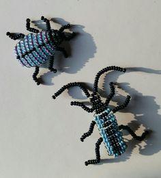 Beaded Animals, Bead Crafts, Beadwork, Ladybug, Dragons, Bugs, Beaded Jewelry, Crochet, Floral