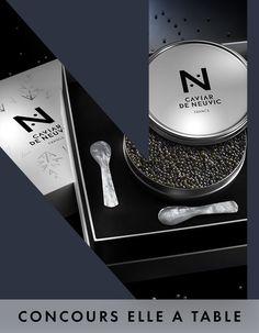 Votre coffret Caviar de Neuvic pour les fêtes - Elle à Table