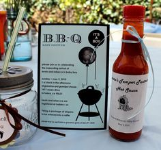 Baby Q Barbeque Shower  Printable Customized by arpartyprintables, $18.00