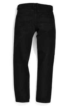 Quiksilver 'Distortion' Slim Straight Leg Jeans (Toddler Boys, Little Boys & Big Boys) available at #Nordstrom