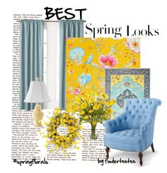 """""""Best Spring Looks...by fowlerteetee"""" by fowlerteetee ❤ liked on Polyvore featuring interior, interiors, interior design, home, home decor, interior decorating, Miller Curtains, Country Curtains, PiP Studio and Stylehaven"""