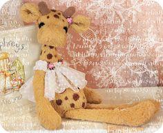 sweet stuffed giraffe