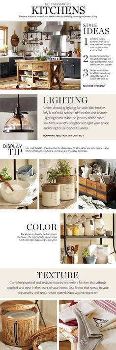 Kitchen Decorating Ideas & Kitchen Design Ideas | Pottery Barn