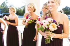 Love the different mix of textures in the bouquet