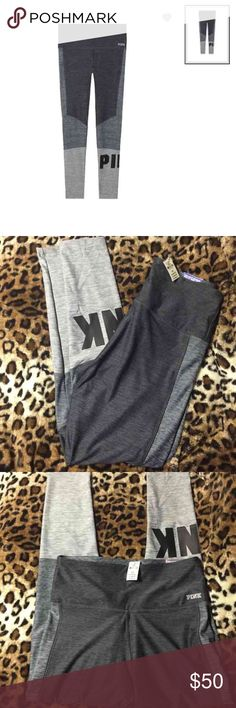 Vs/pink ultimate high waist legging Ultimate high waist leggings Color is infinite / nine iron  ❌NO TRADES❌ ❌ONLY MAKE OFFERS THROUGH THE OFFER BUTTON❌ PINK Victoria's Secret Pants Leggings